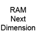 RAM Next Dimension Fridge Thermometers